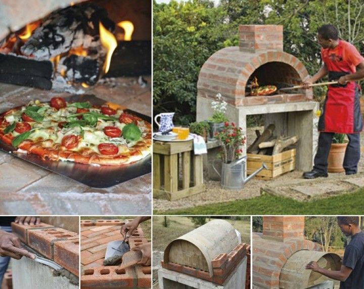 Outdoor Pizza Oven DIY  DIY Pizza Oven Tutorial outdoors backyard diy craft crafts