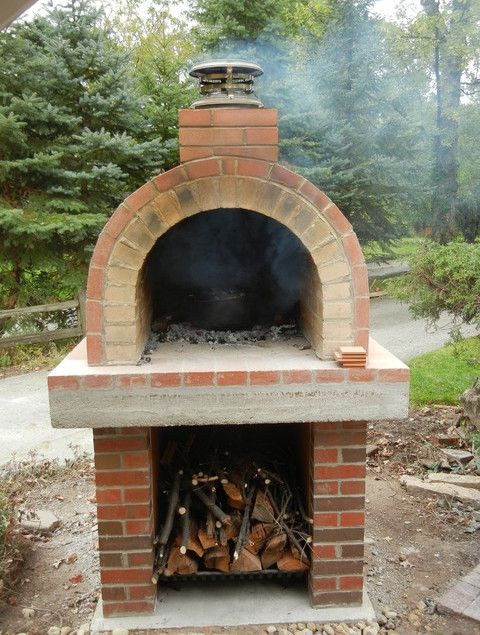 Outdoor Pizza Oven DIY  homemade outdoor pizza oven plans Wood Burning Pizza