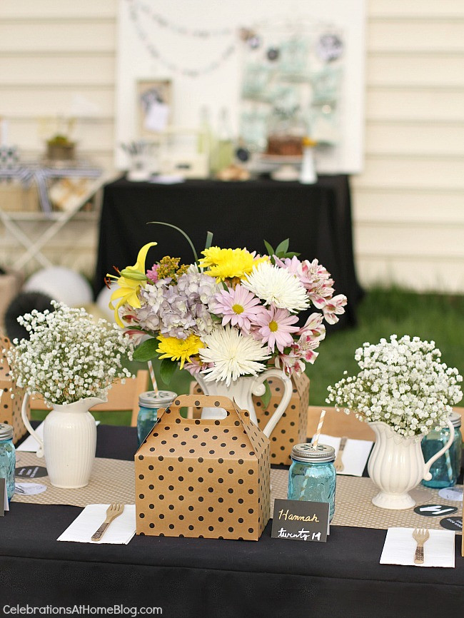 Outside Graduation Party Ideas  Shabby Chic Graduation Party Ideas Celebrations at Home
