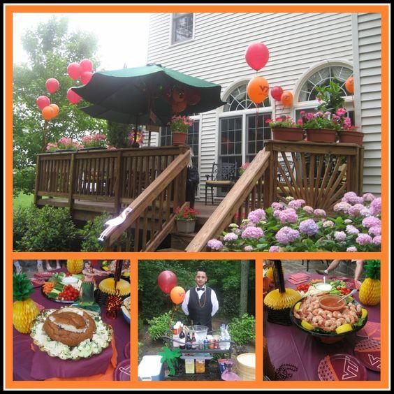 Outside Graduation Party Ideas  Graduation Party Food