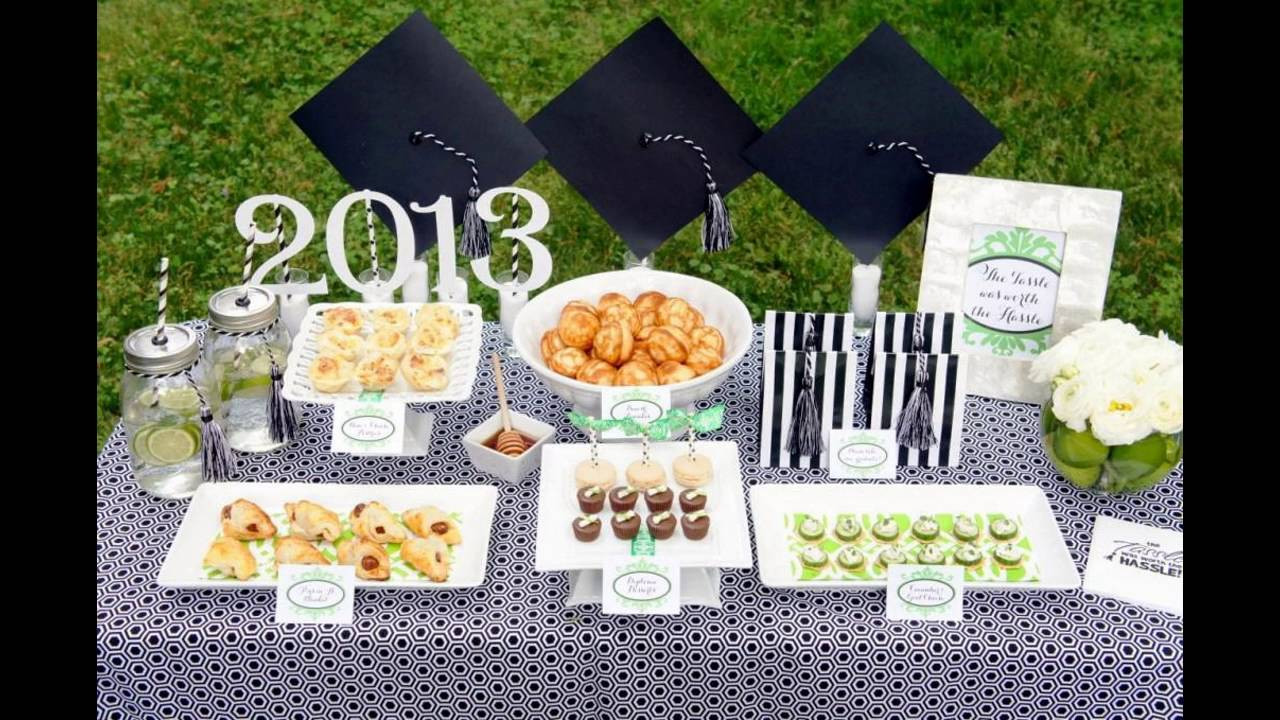 Outside Graduation Party Ideas  Outdoor graduation party themed decorating ideas