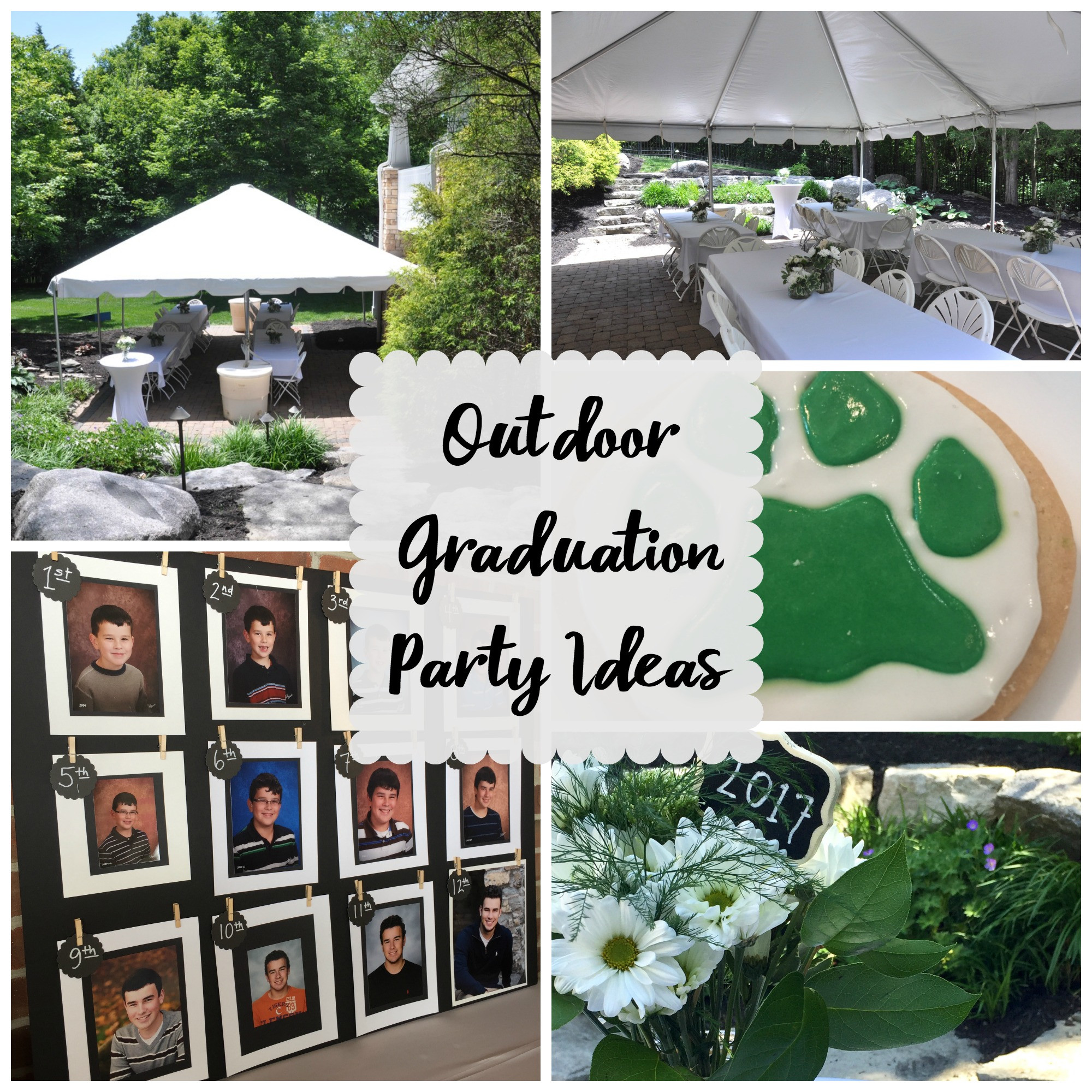 Outside Graduation Party Ideas  Outdoor Graduation Party Evolution of Style