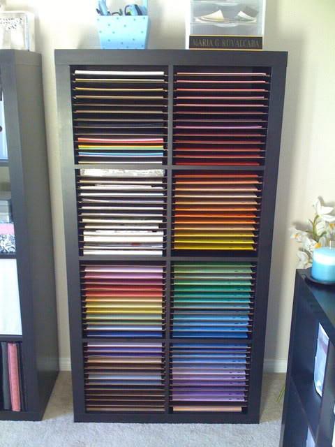 Paper Organizer DIY  20 Scrapbook Paper Storage Ideas The Scrap Shoppe