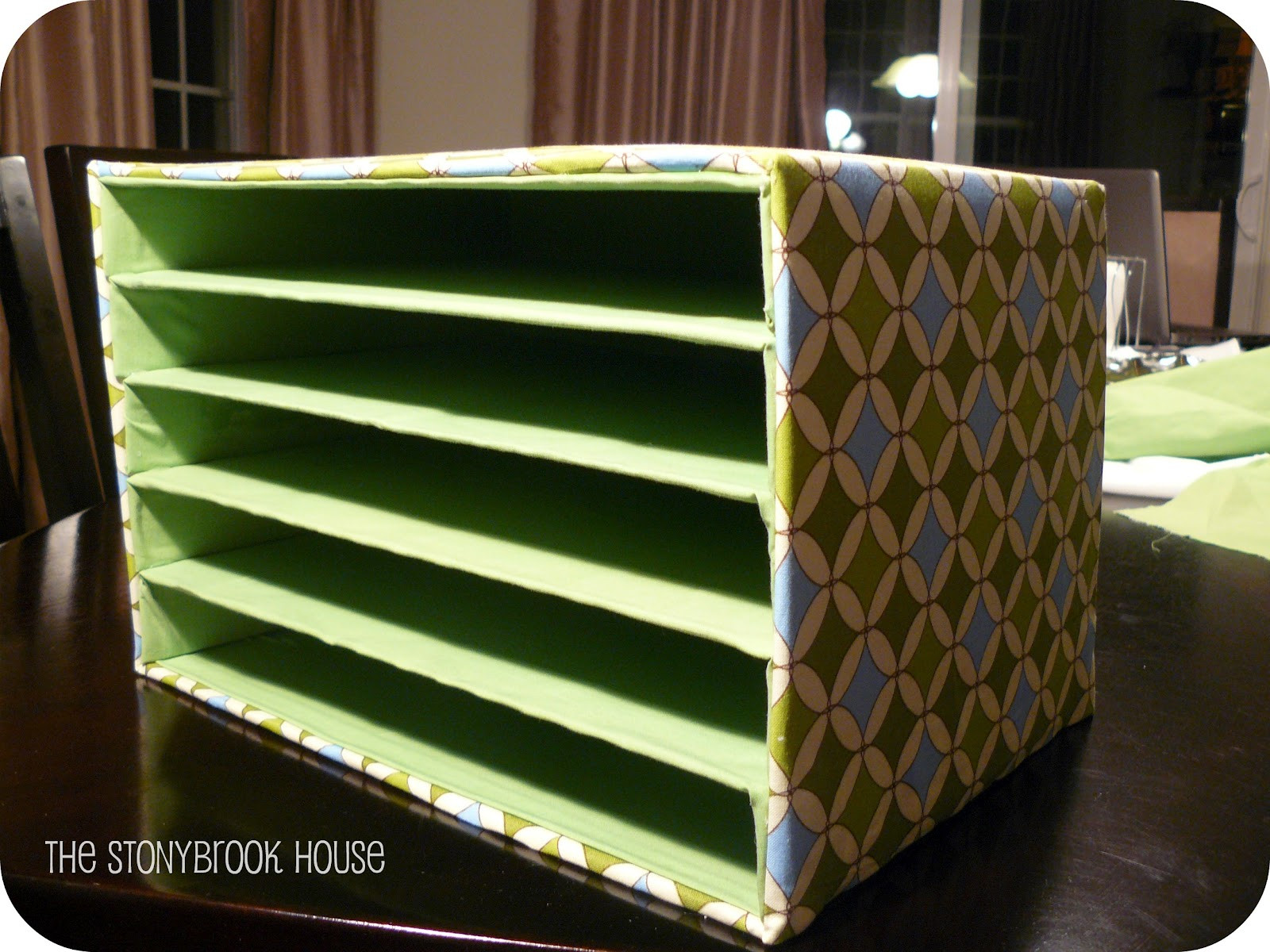 Paper Organizer DIY  Mail Organizer DIY The Cheap The Stonybrook House