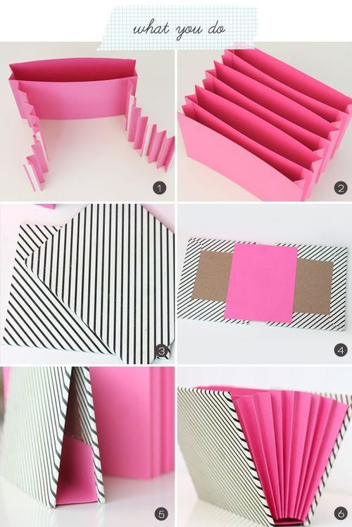 Paper Organizer DIY  DIY Simple Paper Organizer Scrapbook layouts