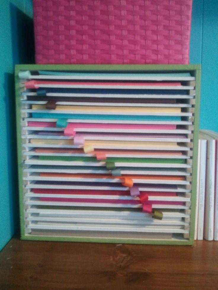 Paper Organizer DIY  Paper Storage idea DIY CREATE