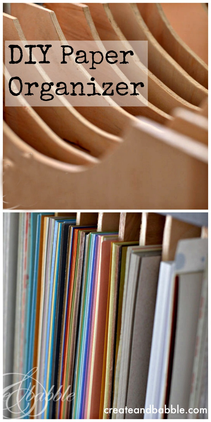 Paper Organizer DIY  DIY Paper Organizer for Cubbie Storage Units