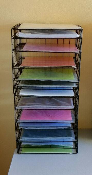 Paper Organizer DIY  DIY 12X12 SCRAPBOOK PAPER STORAGE ORGANIZER INSTRUCTIONS