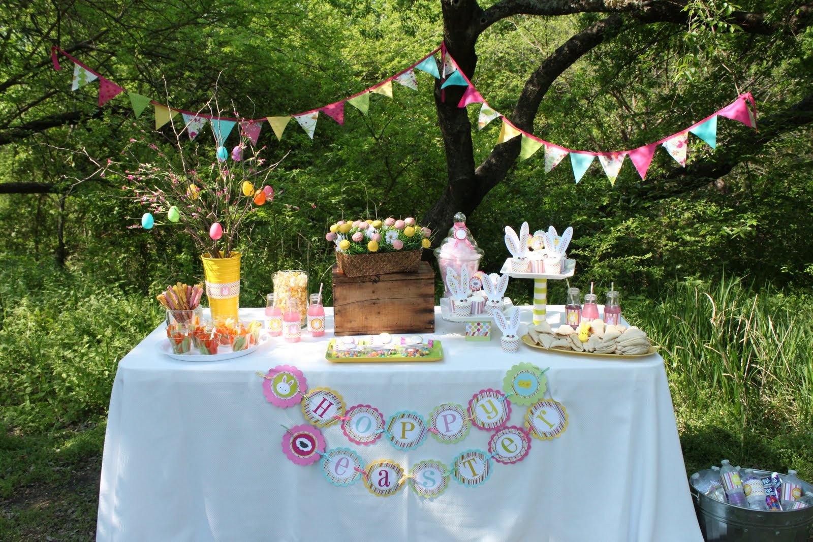 Party Ideas For Easter  Easter Egg Hunt Party