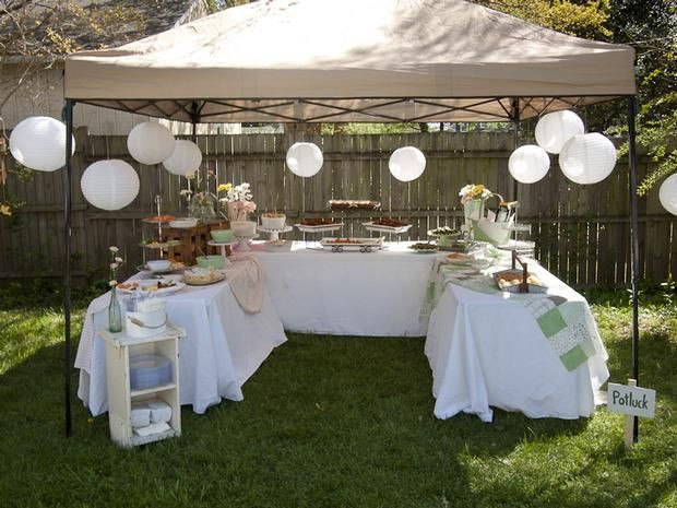 Party In Backyard Ideas  Hostess with the Mostess Mother s Surprise 60th