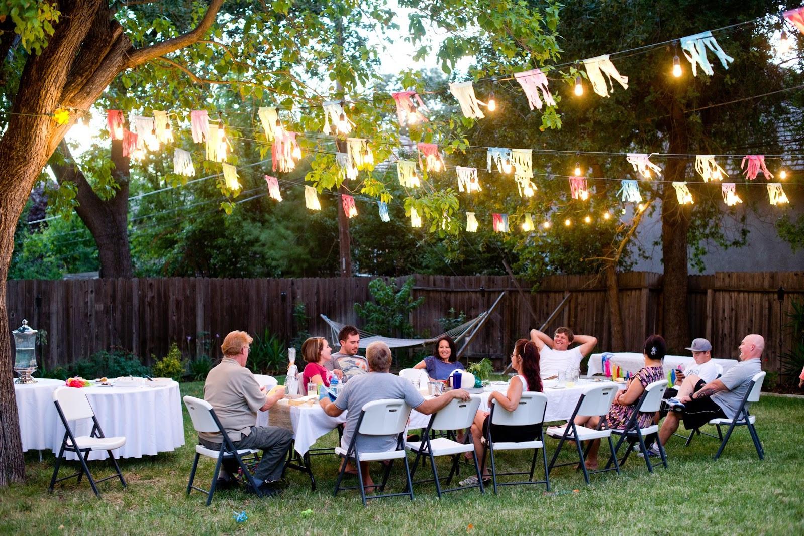 Party In Backyard Ideas  Domestic Fashionista Backyard Fall Celebration