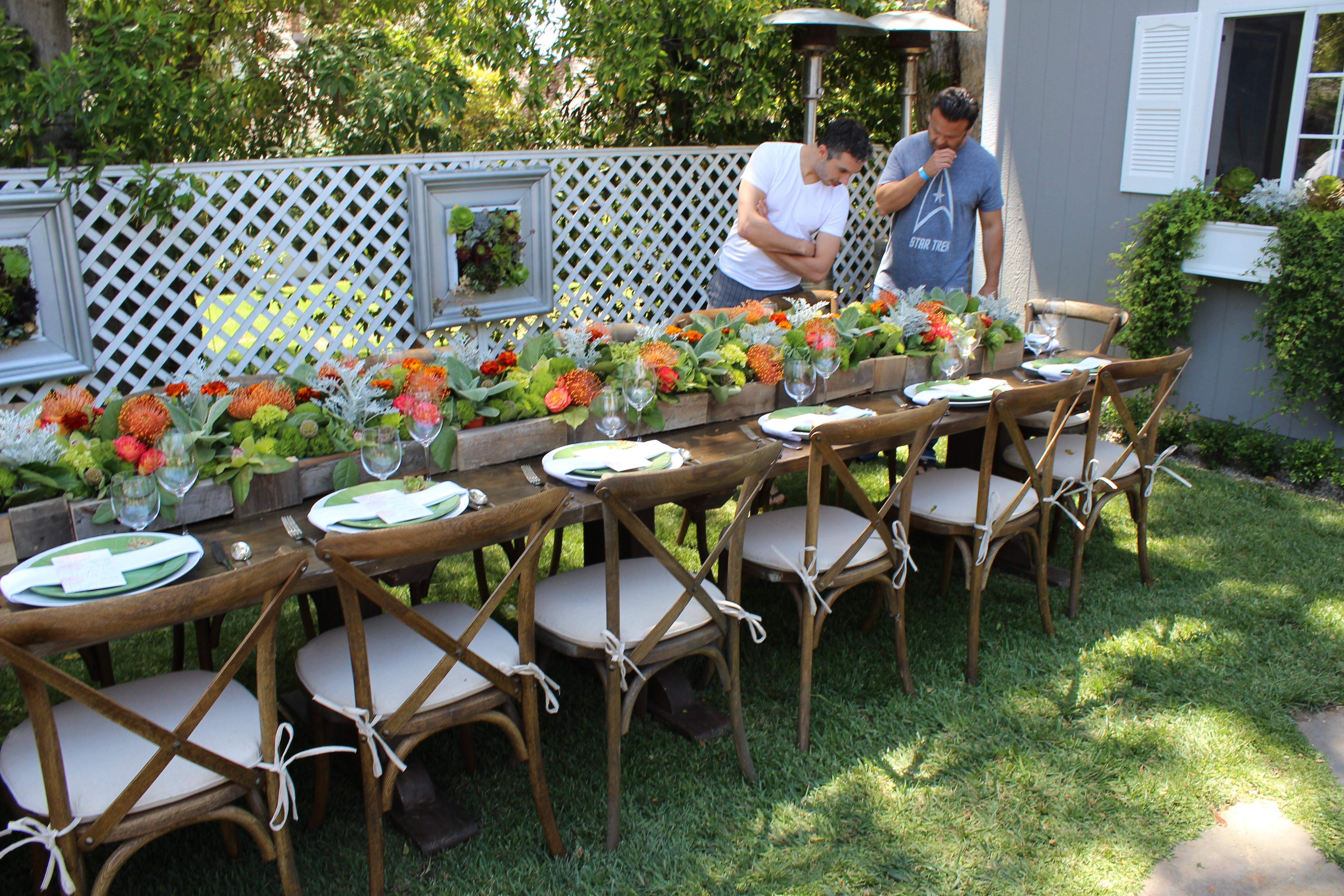 Party In Backyard Ideas  Plan an Outdoor Garden Party