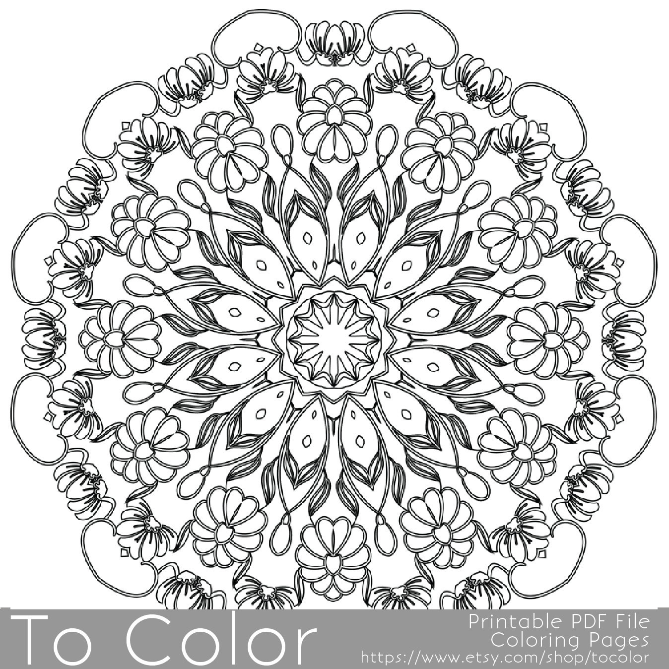 Pens For Adult Coloring Books  Intricate Printable Coloring Pages for Adults Gel Pens by