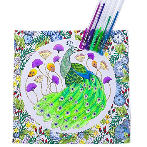 Pens For Adult Coloring Books  Tanmit 240 Gel Pens Set for Adults Coloring Books Drawing