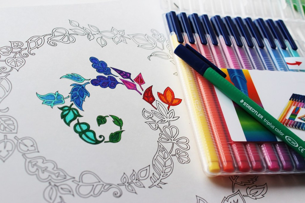 Pens For Adult Coloring Books  plete Guide to Adult Coloring Supplies How to Color