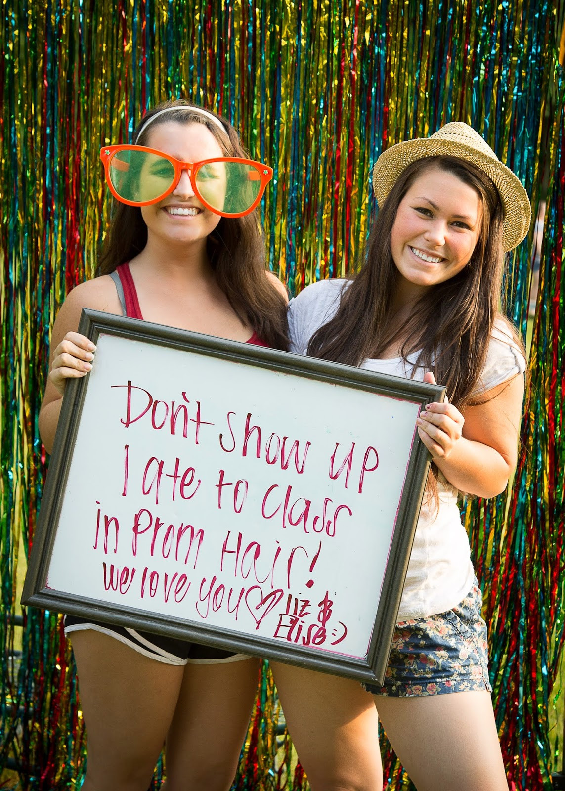 Photo Booth Ideas For Graduation Party  Karyn Nicoll graphy Graduation Party Booth
