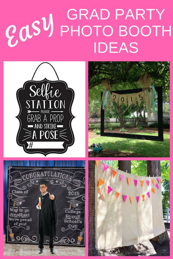 Photo Booth Ideas For Graduation Party  Grad Party Booth Ideas