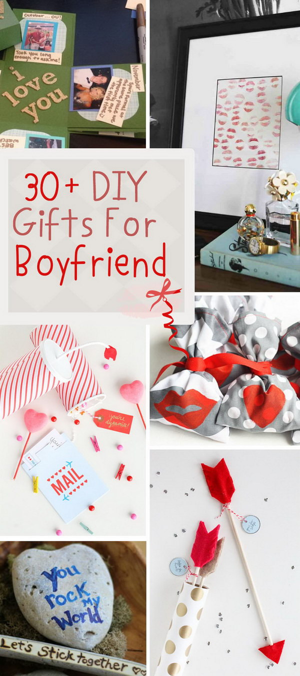 Picture Gift Ideas For Boyfriend  30 DIY Gifts For Boyfriend 2017