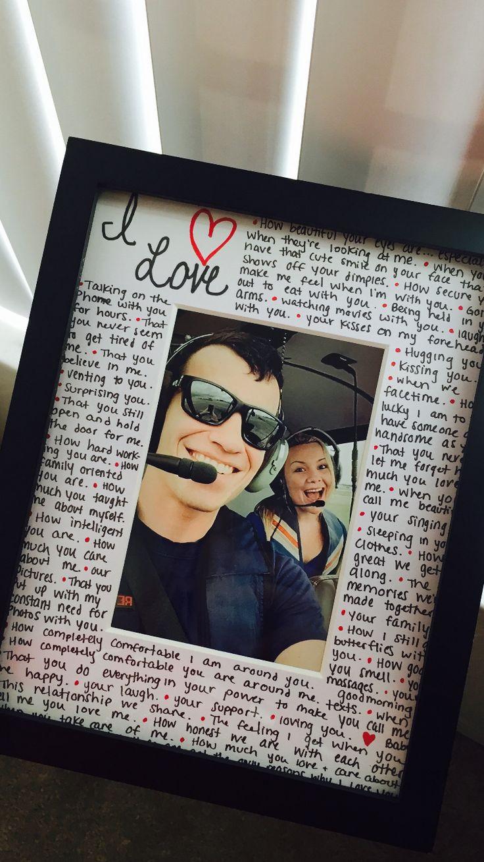 Picture Gift Ideas For Boyfriend  Best 20 Girlfriend birthday ideas on Pinterest