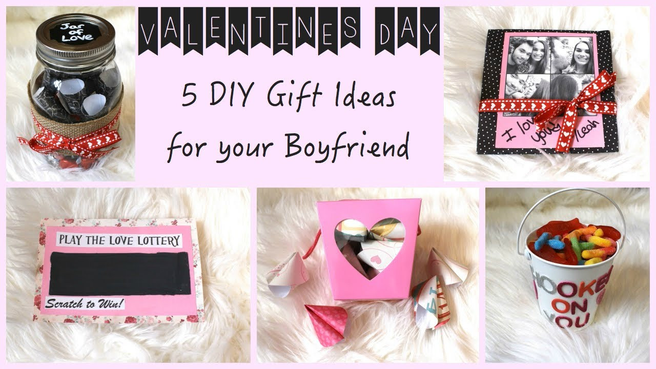 Picture Gift Ideas For Boyfriend  5 DIY Gift Ideas for Your Boyfriend