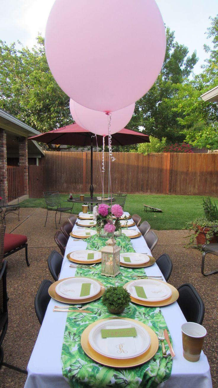 Pinterest Backyard Party Ideas  Best 25 Backyard birthday parties ideas on Pinterest