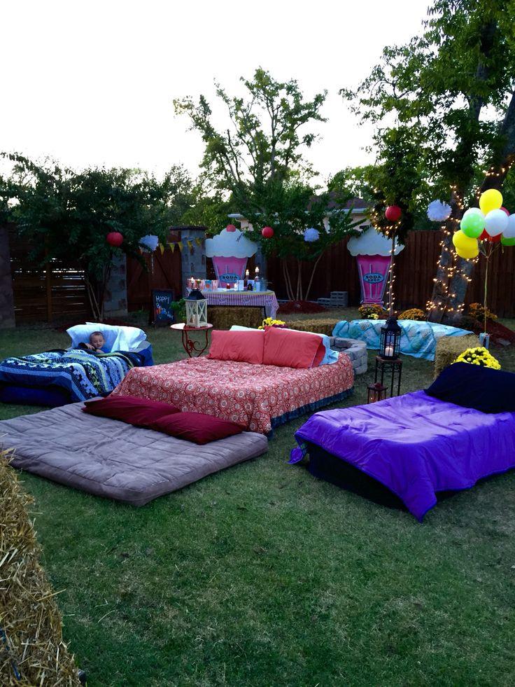 Pinterest Backyard Party Ideas  Best 25 Outdoor Movie Party ideas on Pinterest