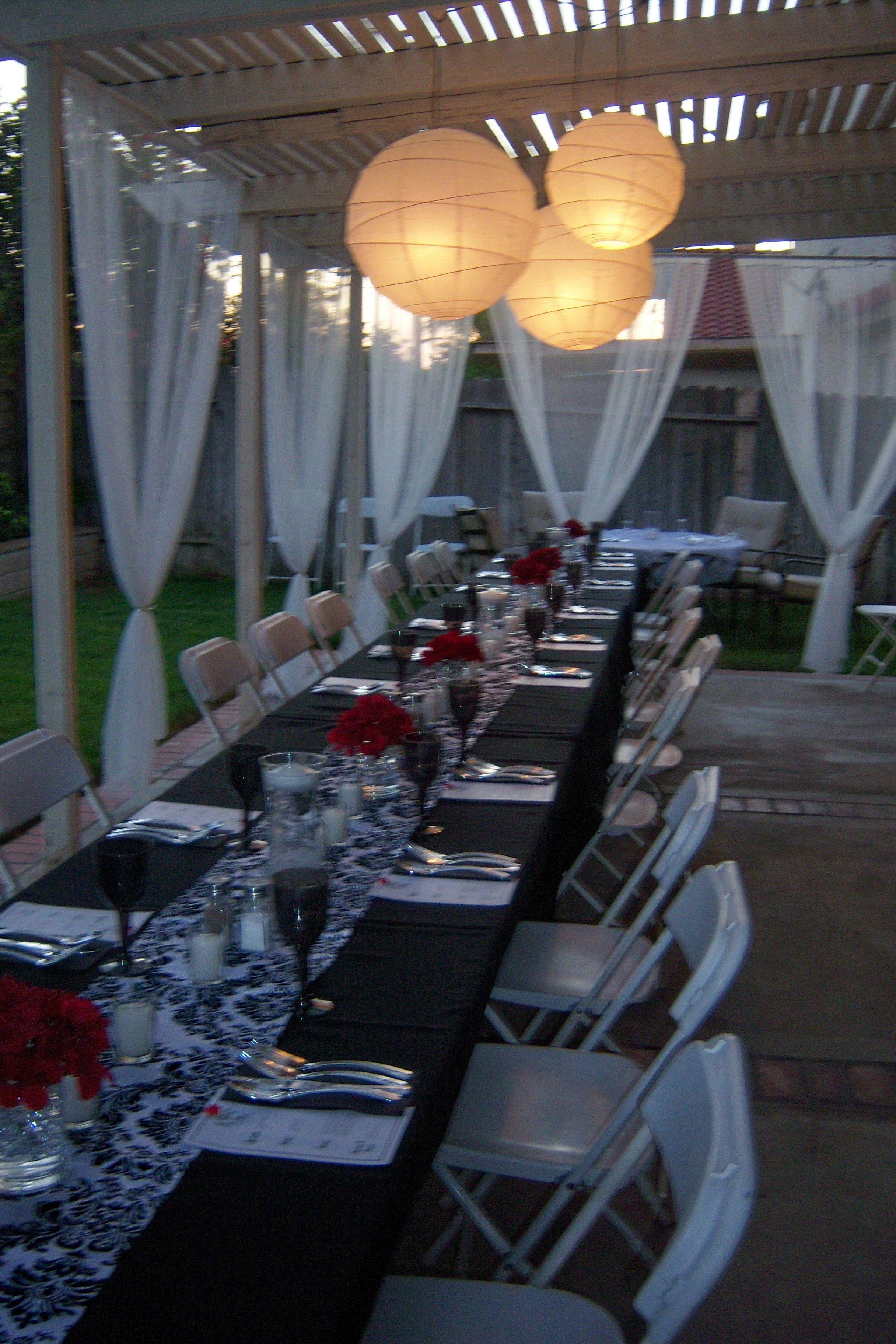 Pinterest Backyard Party Ideas  My backyard dinner party My Events CCC