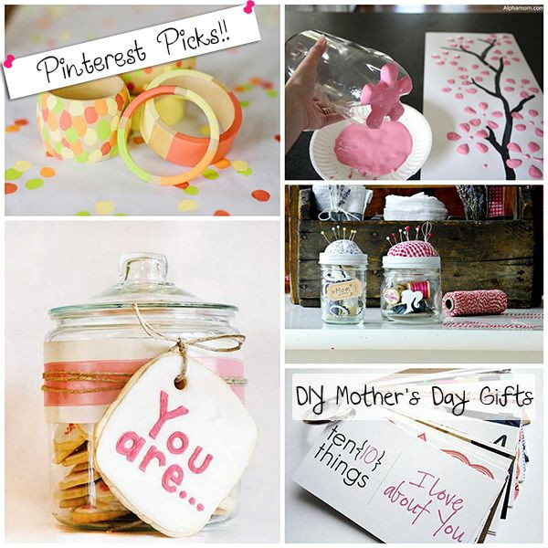 Pinterest Mothers Day Gift Ideas  Pinterest mom day