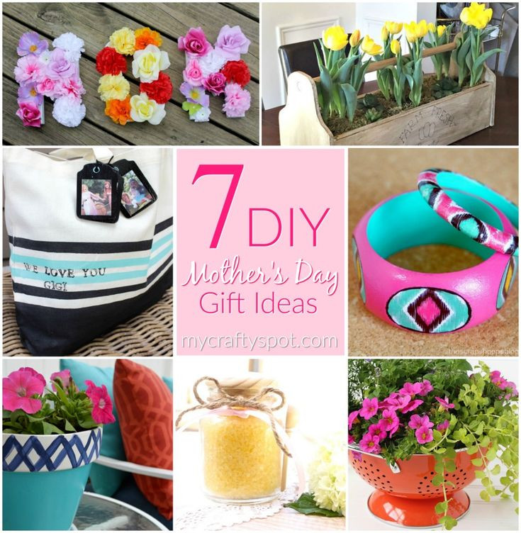 Pinterest Mothers Day Gift Ideas  7 DIY Mother s Day Gift Ideas My Crafty Spot