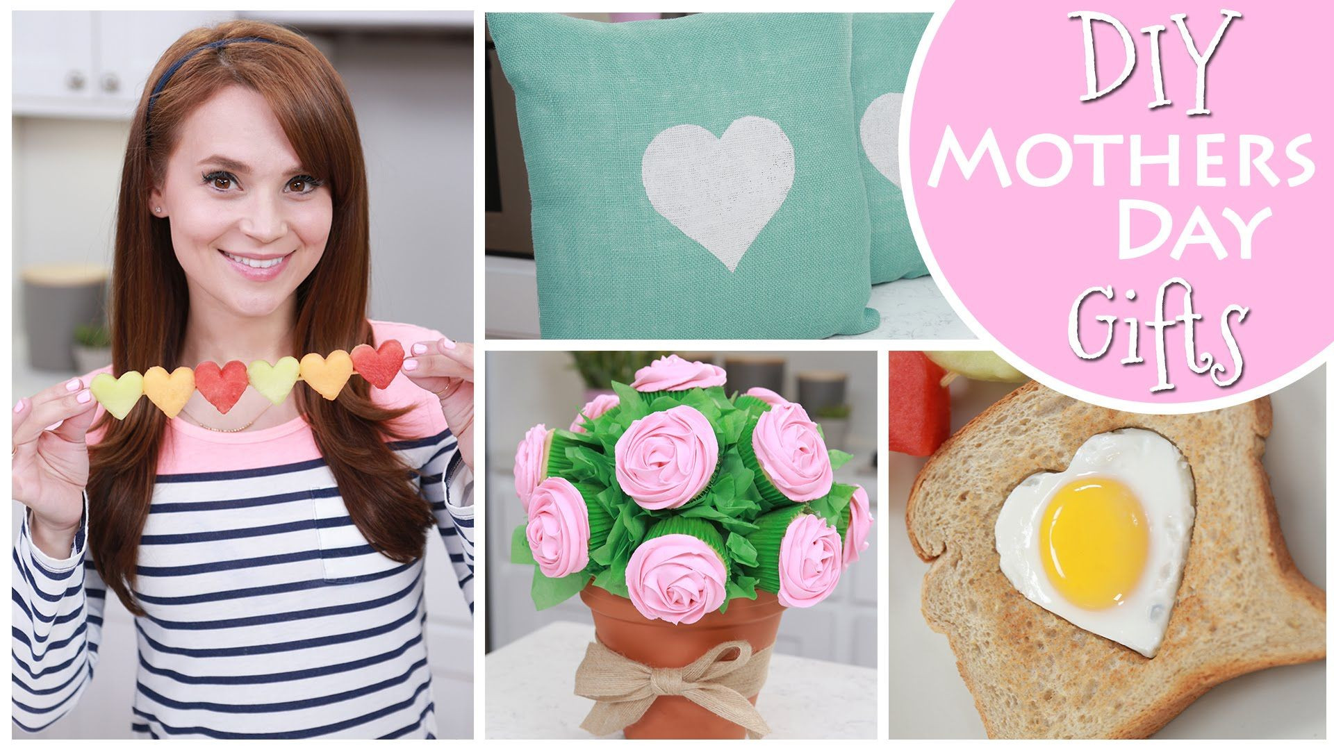 Pinterest Mothers Day Gift Ideas  DIY MOTHERS DAY GIFT IDEAS Videos