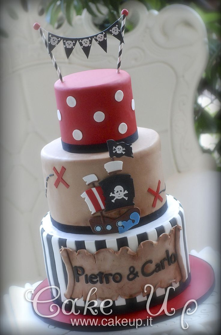 Pirate Birthday Cake  17 Best ideas about Pirate Cakes on Pinterest