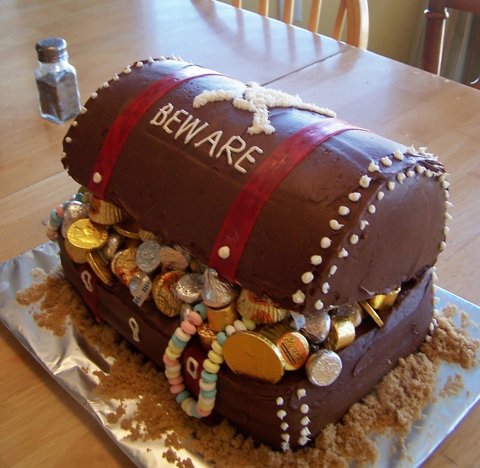 Pirate Birthday Cake  Batchelors Way Pirate Party