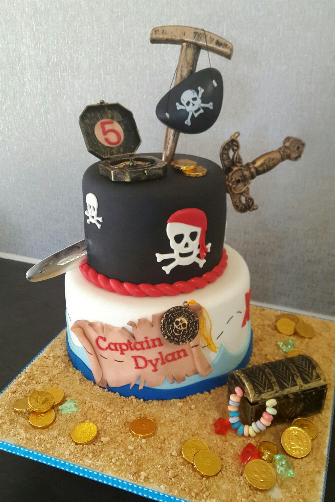 Pirate Birthday Cake  Birthday Cakes