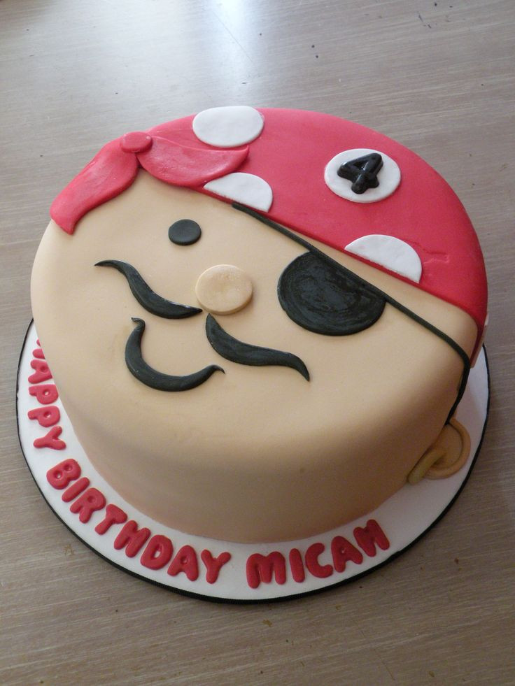 Pirate Birthday Cake  Best 25 Easy pirate cake ideas on Pinterest