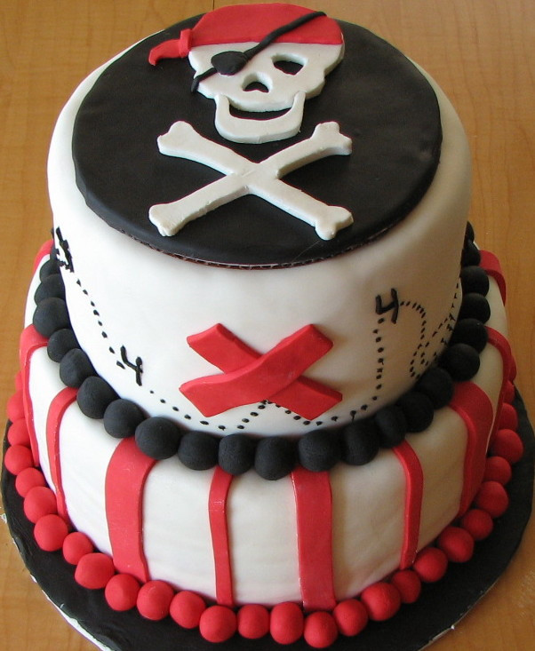 Pirate Birthday Cake  By Any Other Name April 2011