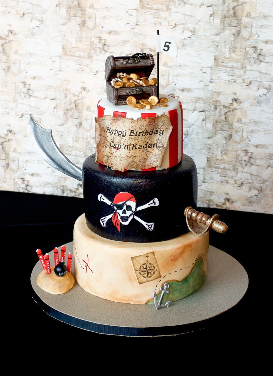 Pirate Birthday Cake  Pirate Birthday Cake CakeCentral