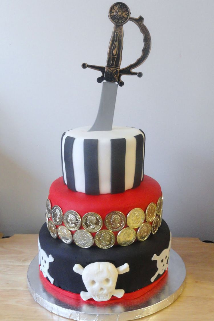 Pirate Birthday Cake  26 Birthday Cake Inspiration for Boys Stay at Home Mum