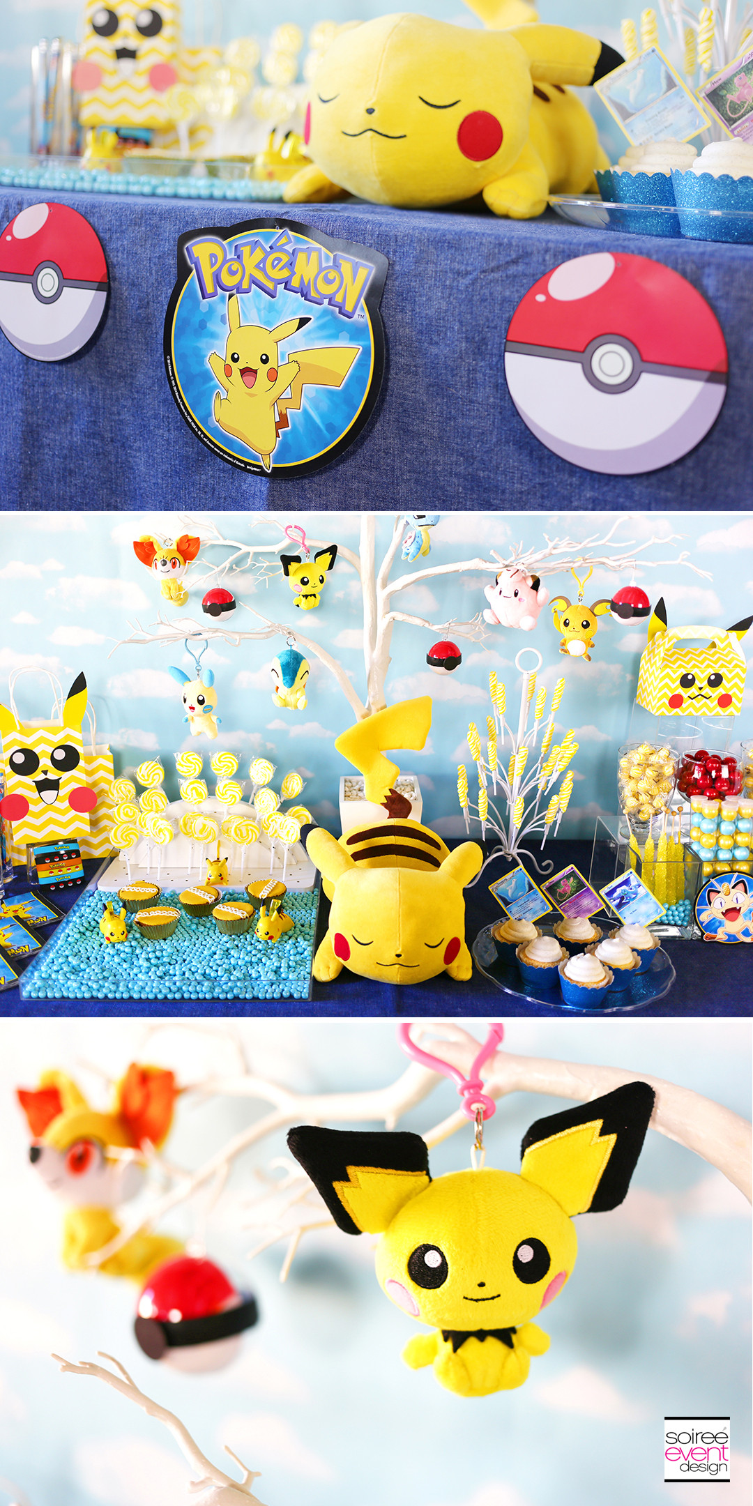 Pokemon Birthday Party Decorations  Pokemon Party Ideas How To Set Up A Pokemon Candy Bar