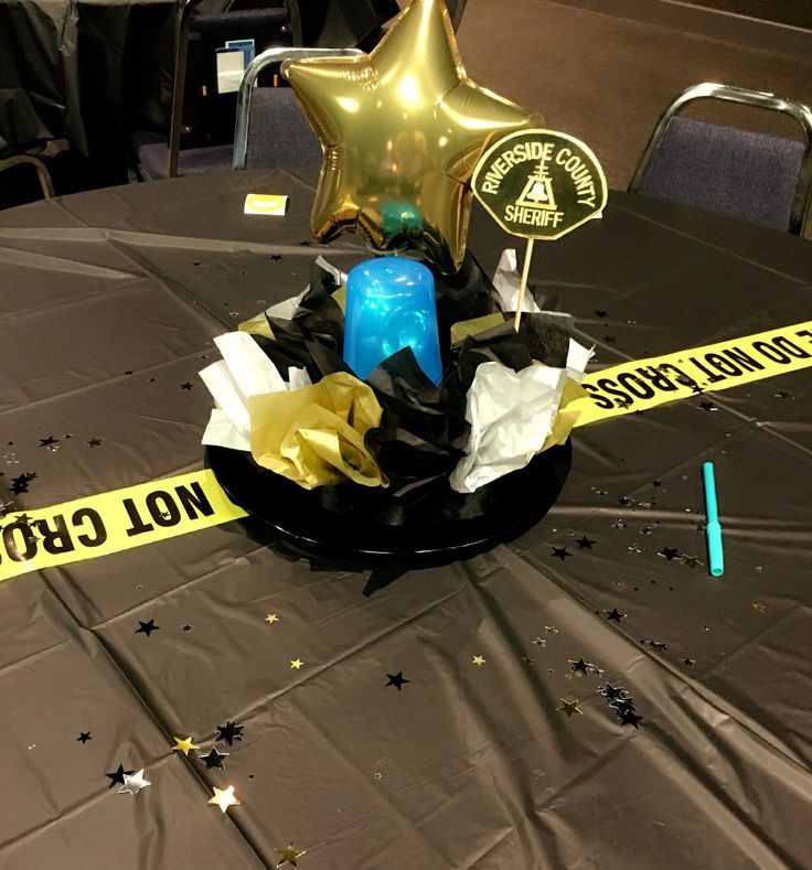 Police Officer Retirement Party Ideas  59 best Sheriff fice Retirement Party Ideas images on
