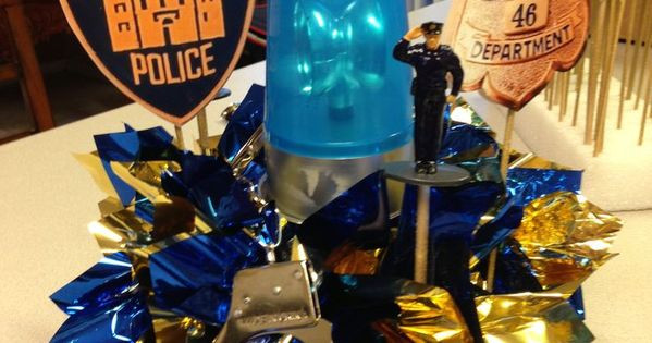 Police Officer Retirement Party Ideas  police officer retirement decorations
