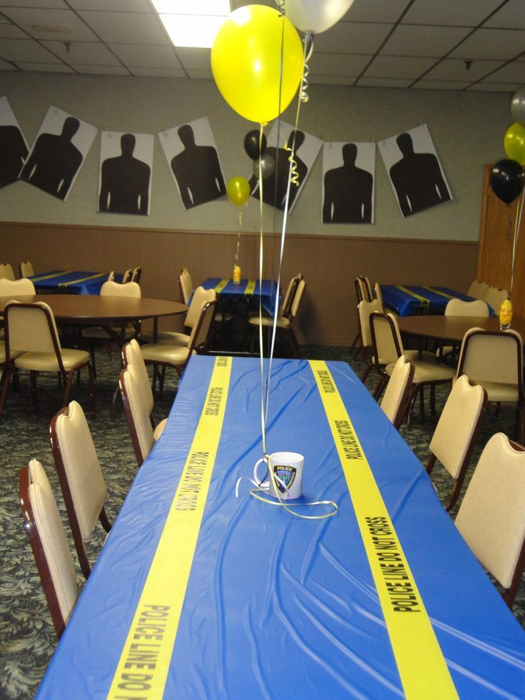 Police Officer Retirement Party Ideas  Police Retirement This cake was made for a retirement