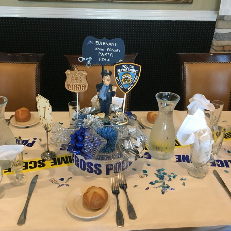 Police Officer Retirement Party Ideas  13 best Police retirement party DIY images on Pinterest