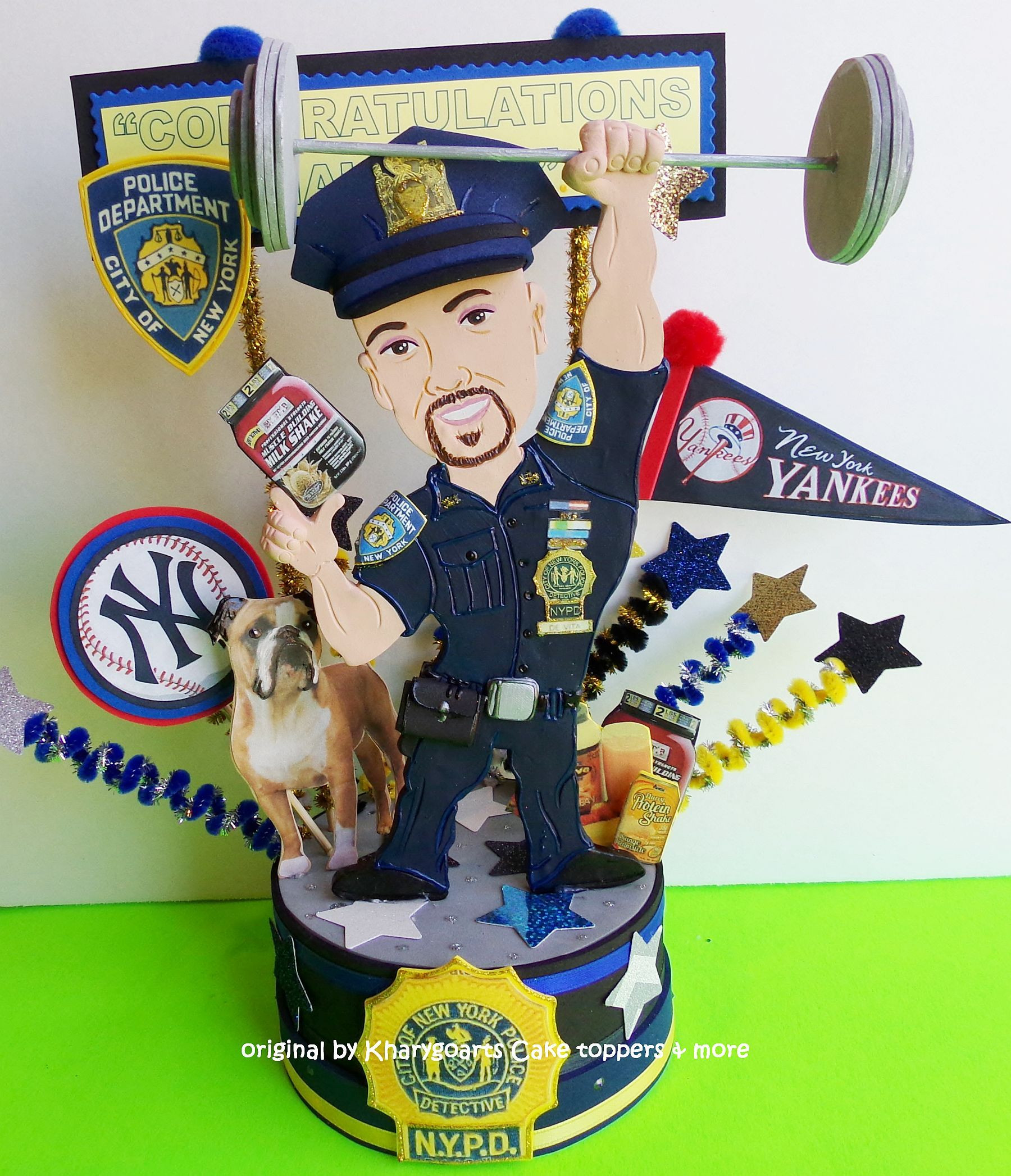 Police Officer Retirement Party Ideas  Police Retirement cake topper Police officer Sheriff party