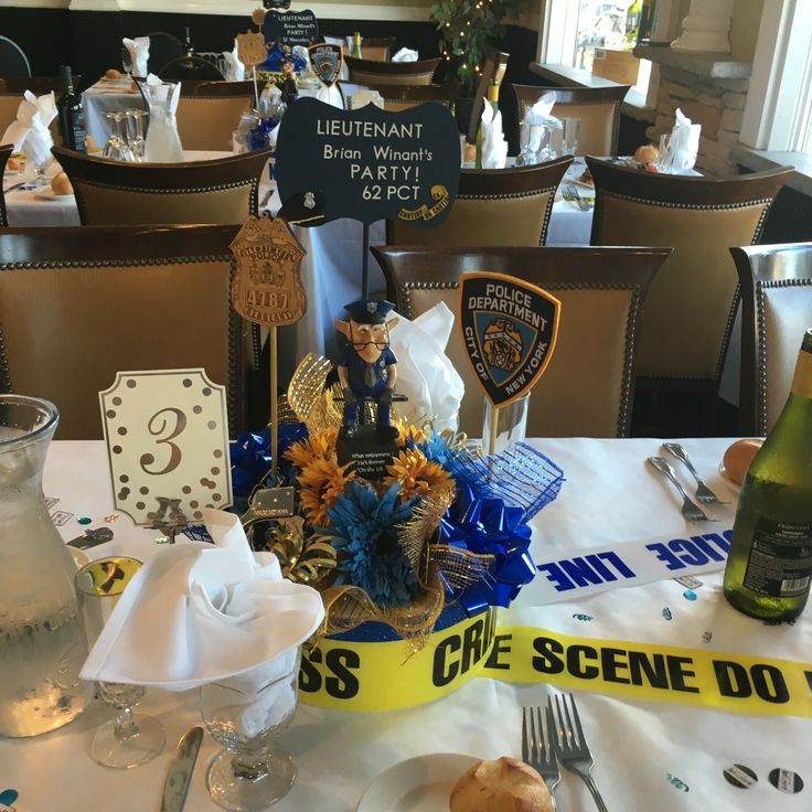 Police Retirement Party Ideas  13 best Police retirement party DIY images on Pinterest