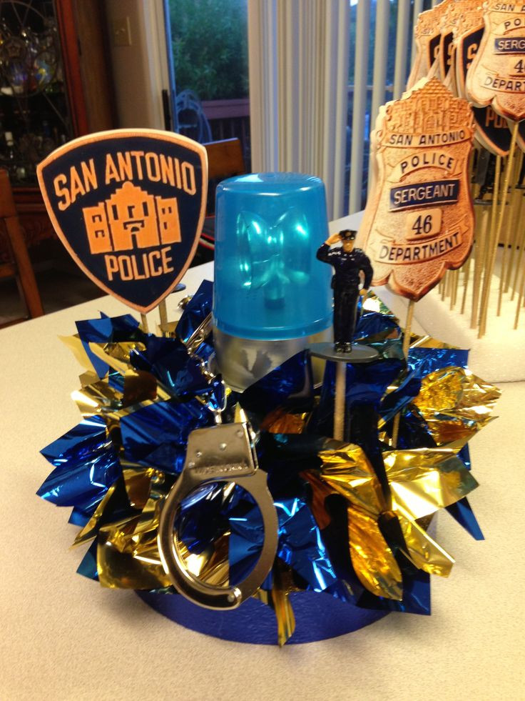Police Retirement Party Ideas  pinterest law enforcement retirement party ideas