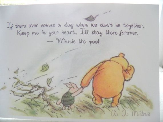 Pooh Birthday Quotes  Winnie the Pooh Braver Than You Think quotes