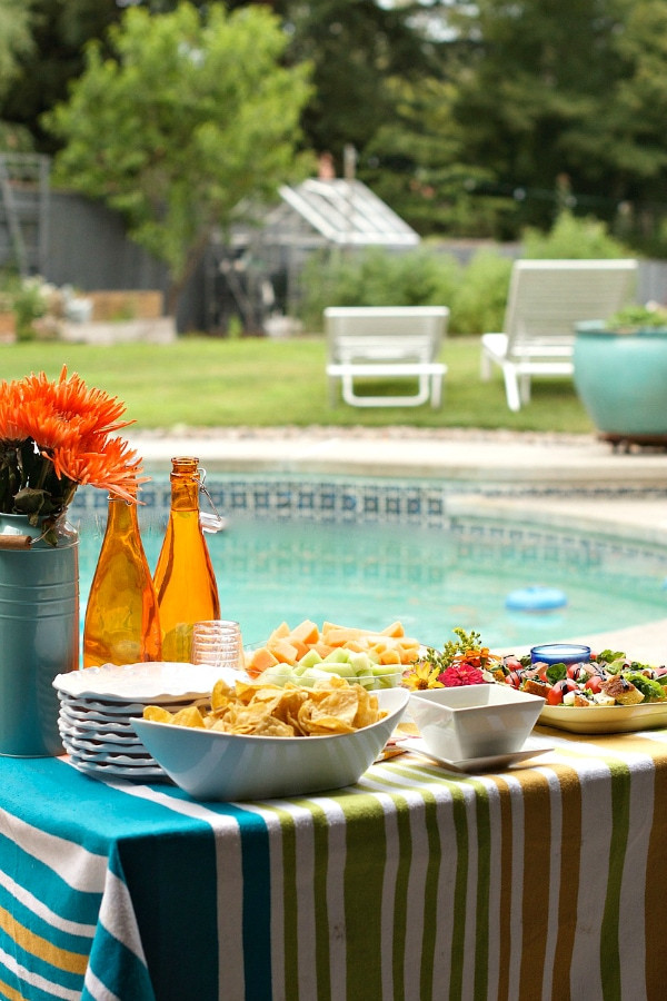 Pool Party Appetizer Ideas  Pool Party Menu Recipe Girl