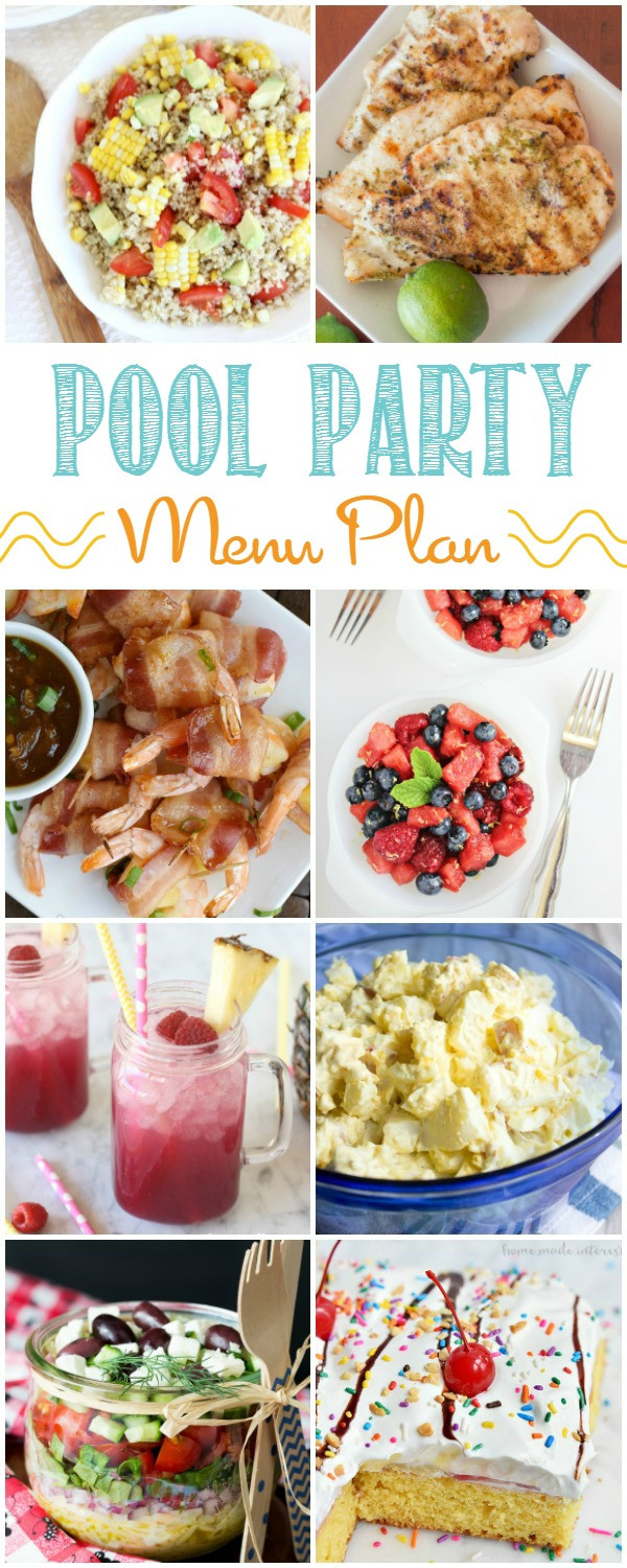 Pool Party Appetizer Ideas  Summer Pool Party Menu