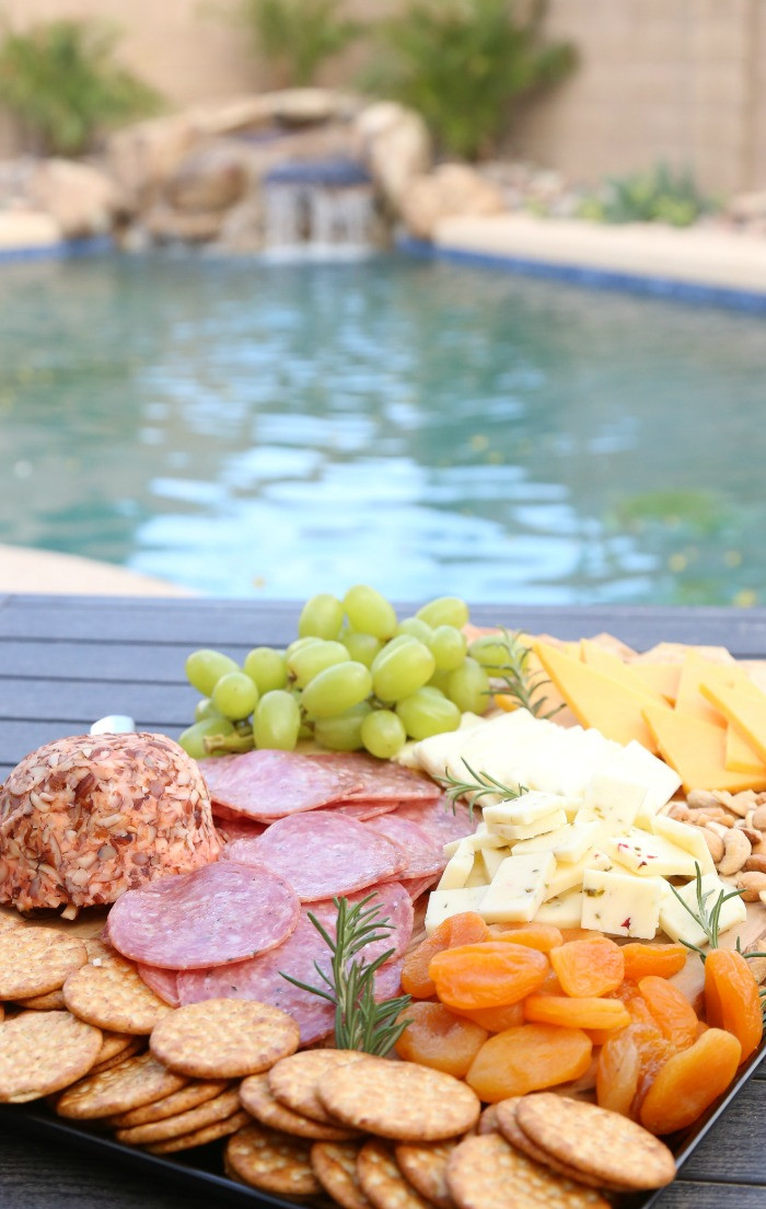 Pool Party Appetizer Ideas  Cheese Board Ideas for Easy Entertaining