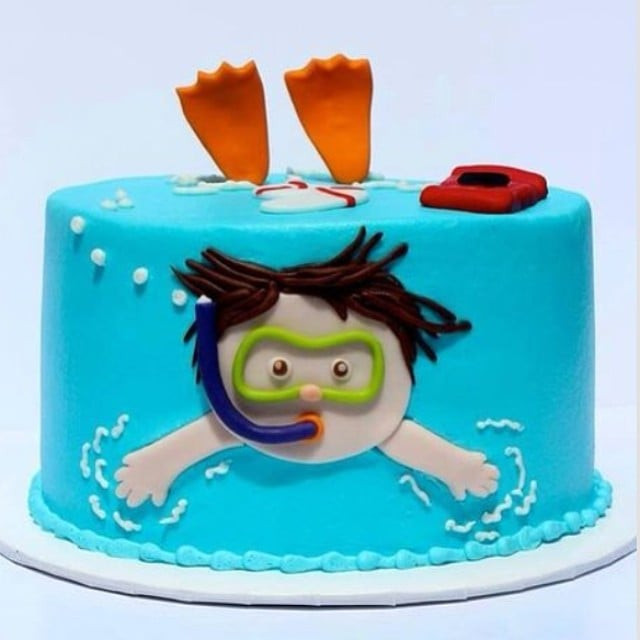 Pool Party Cake Ideas For Birthdays  Pool Party Cakes